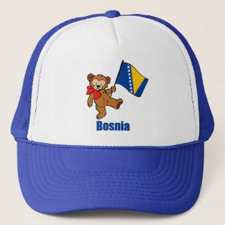 Bosnien-Teddybär Truckerkappe