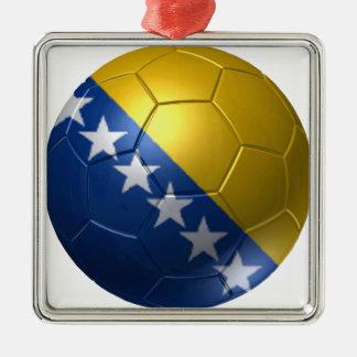 Bosnien und Herzegowina-Ball Silbernes Ornament