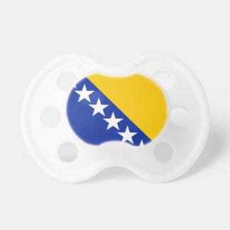 Bosnien und Herzegowina kennzeichnen Schnuller