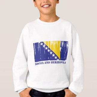 Bosnien und Herzegowina kennzeichnen Sweatshirt