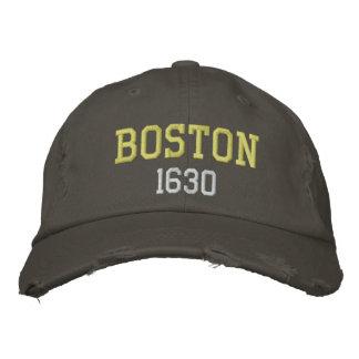 Boston 1630 bestickte kappen