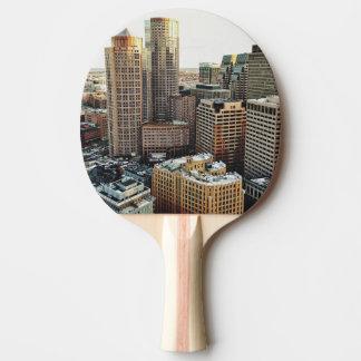 Boston-Ansicht Tischtennis Schläger