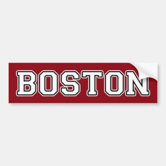 Boston Autoaufkleber