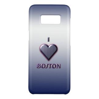 Boston -- Blau mit Glühen Case-Mate Samsung Galaxy S8 Hülle