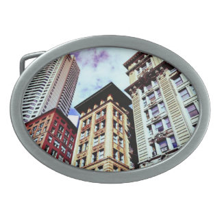 Boston-Gebäude Ovale Gürtelschnallen