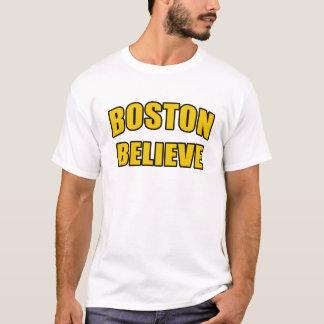 Boston glauben Hockey-Fan-T - Shirt-Geschenk T-Shirt