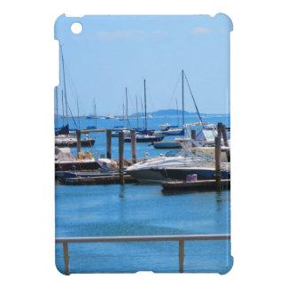 Boston-Hafen-Boots-Segel-SailBoats Seeansichten iPad Mini Hülle