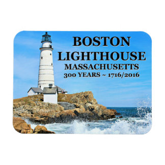 Boston-Leuchtturm, Massachusetts Magnet