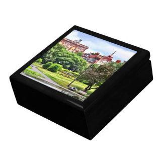Boston MA - Entspannung in allgemeinem Garten Geschenkbox