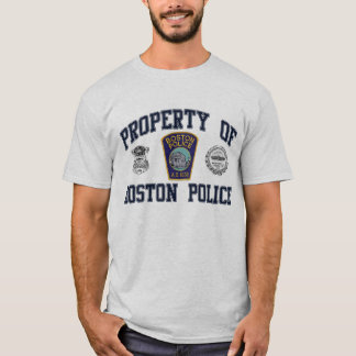 Boston-Polizei T-Shirt