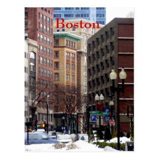 Boston Postkarte