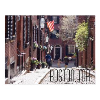 Boston-Postkarte, Fotograf Brad Hines Postkarte