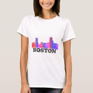 Boston-Skyline-Aquarell T-Shirt