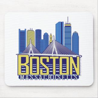 Boston-Stadt-Farben Mousepads