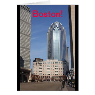 Boston-Stadtbild-Karte Karte