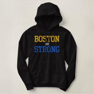 Boston stark bestickter hoodie
