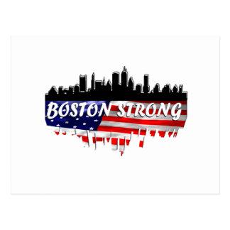 Boston stark postkarte