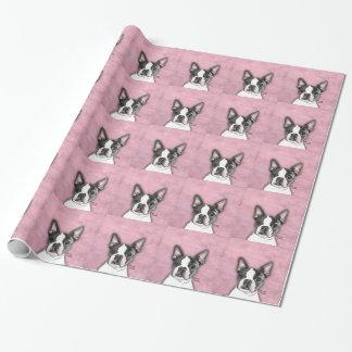 Boston Terrier Geschenkpapier