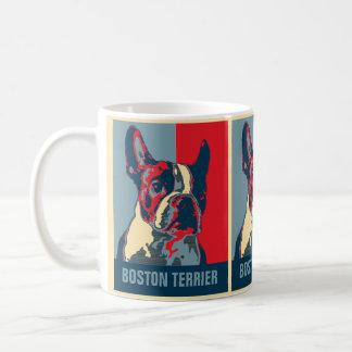 Boston-Terrier-Hoffnung inspiriert Kaffeetasse