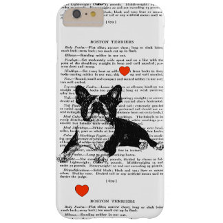 BOSTON-TERRIER-LIEBE CASE-VINTAGE BARELY THERE iPhone 6 PLUS HÜLLE