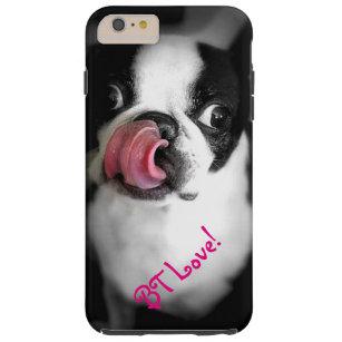 Boston-Terrier-Liebe iPhone Fall! Tough iPhone 6 Plus Hülle