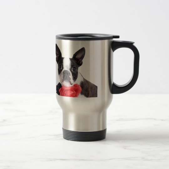 Boston Terrier Mollie Mäusekind Reisebecher