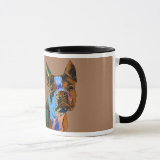 Boston Terrier Tasse
