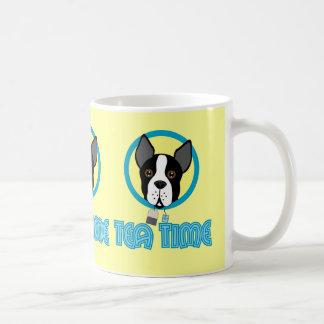 Boston-Terrier-Tee-Party Kaffeetasse