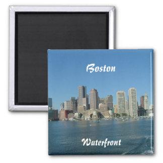 Boston-Ufergegend Quadratischer Magnet