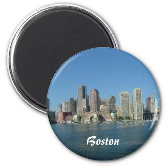 Boston-Ufergegend Runder Magnet 5,1 Cm