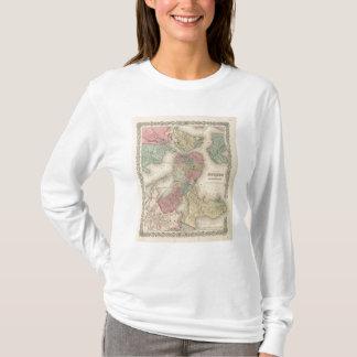 Boston und angrenzende Städte T-Shirt