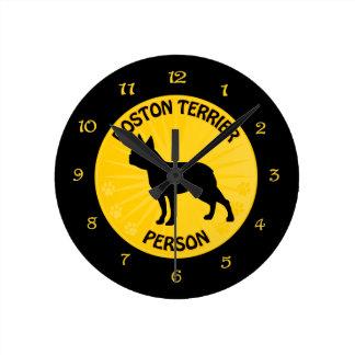 Boston Xing Runde Wanduhr