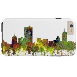 BostonMas. Skyline-Safari-Büffelleder Tough iPhone 6 Plus Hülle