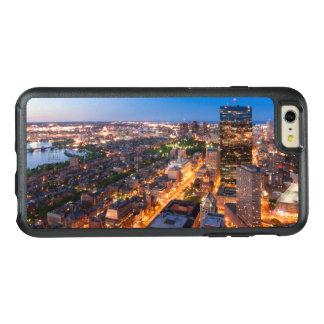 Bostons Skyline an der Dämmerung OtterBox iPhone 6/6s Plus Hülle