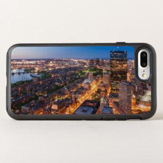 Bostons Skyline an der Dämmerung OtterBox Symmetry iPhone 8 Plus/7 Plus Hülle