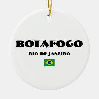 Botafogo Brasilien Kreis-Verzierung Keramik Ornament