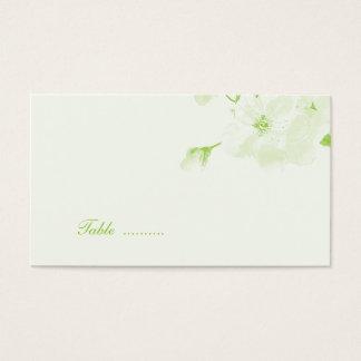 Botanisch (Platzkarte) Visitenkarten