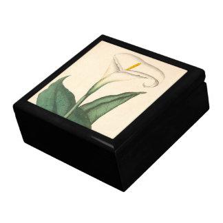 Botanische Calla-Lilien-Blumen-BlumenGeschenkboxen Schmuckschachtel