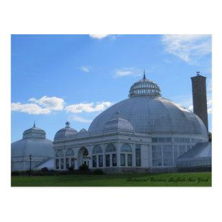 Botanische Gärten Büffel-New York Postkarte