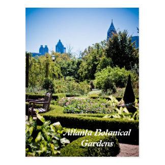 Botanische Garten-Postkarte Atlantas Postkarte