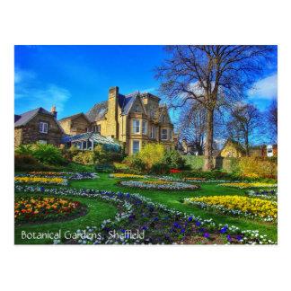 Botanische Gärten, Sheffield Postkarte