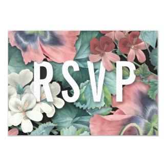 Botanische Umarmungs-Hochzeit UAWG Karten Karte