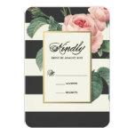 Botanische Wedding Wartekarte des Glamour-| 8,9 X 12,7 Cm Einladungskarte