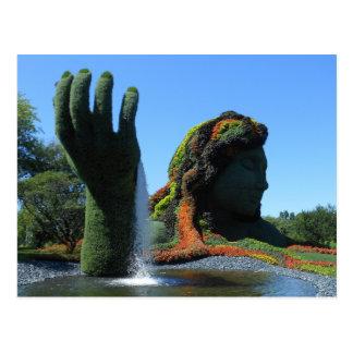 Botanischer Garten Montreals Postkarte