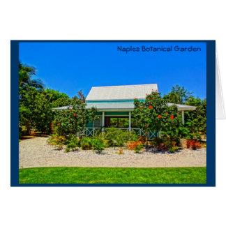 Botanischer Garten Neapels Florida - karibischer Karte