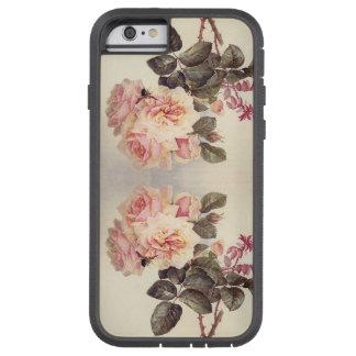 Botanischer Kohl-Rosen-Blumen iPhone 6 Fall Tough Xtreme iPhone 6 Hülle