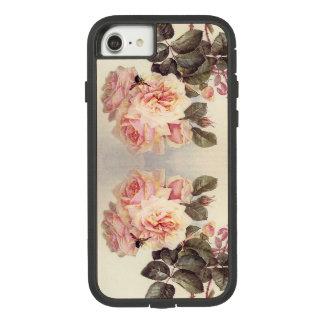 Botanischer Kohl-Rosen-Blumen iPhone 7 Fall 8 Case-Mate Tough Extreme iPhone 8/7 Hülle
