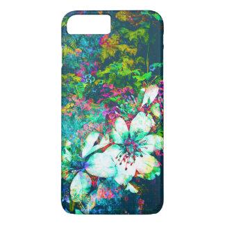 Botanisches Blumengrunge-Blätter-und Rebe-Malen iPhone 8 Plus/7 Plus Hülle