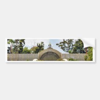 Botanisches Gebäude im Balboa-Park Auto Sticker