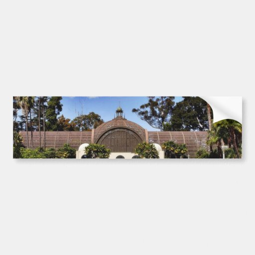 Botanisches Gebäude im Balboa-Park in San Diego Autosticker